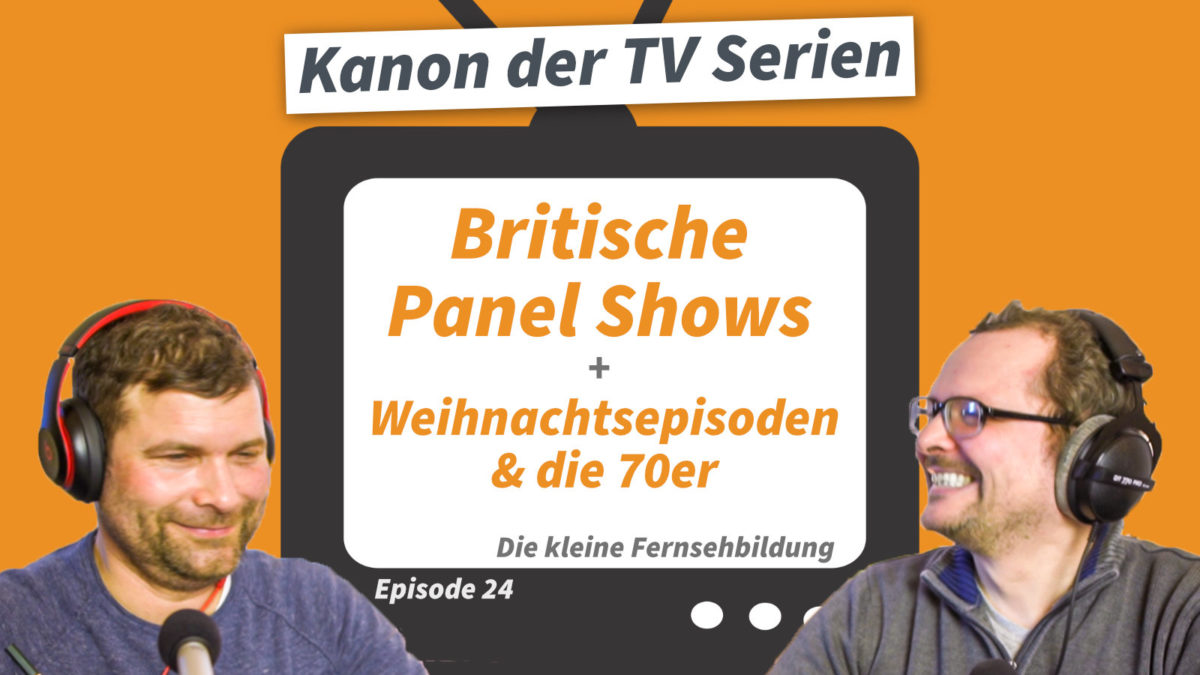 TV-Serien: Britische Panel Shows